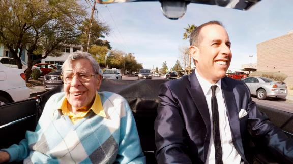 The late Jerry Lewis is among the comedians featured in the latest season of Jerry Seinfeld