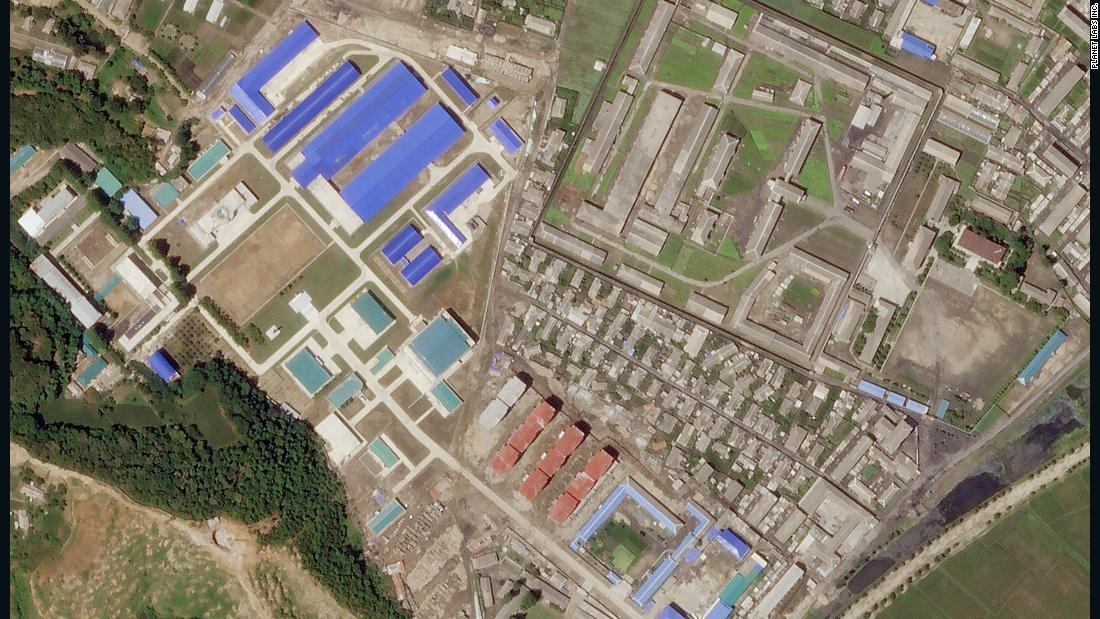 Image result for news for north korea, satellite photos