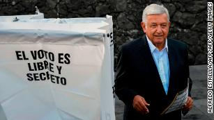 Lopez Obrador wins landslide as Mexico votes for change