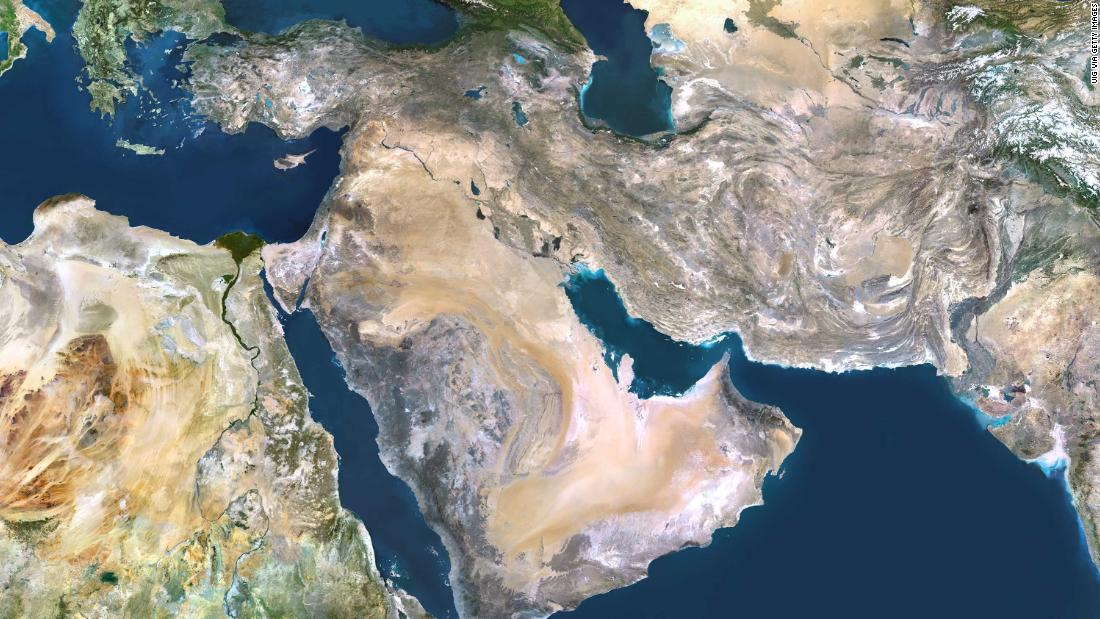 "Earth's surface is 71 percent water, but the Middle East and North Africa have access to barely any of it. The region is the <a href=""https://openknowledge.worldbank.org/handle/10986/27659"" target=""_blank"">most water-scarce in the world</a>, home to just one percent of the world's freshwater resources."