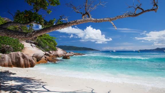 Seychelles: Lying 1,000 miles off the East African coast, the archipelago offers the full castaway experience among 115 isolated islands dotted across aquamarine seas.