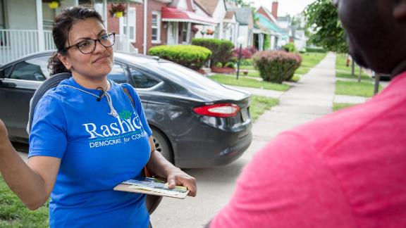 Democratic candidate Rashida Tlaib is running for Us Congress in Michigan