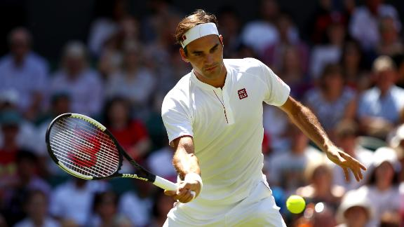 Roger Federer begins the quest for a record ninth Wimbledon title.