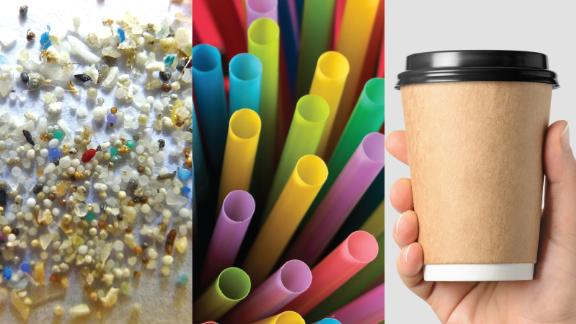 Microbeads, straws, and coffee cups have all come under fire in the battle against plastic.