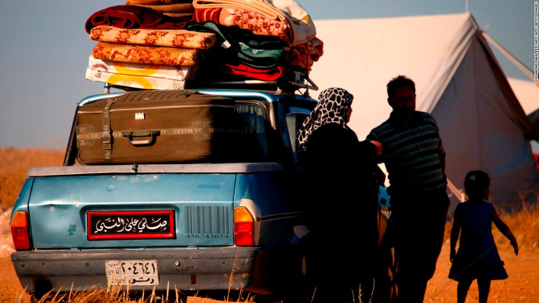 More than 300,000 Syrians homeless in latest regime offensive