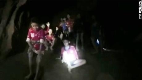 Watch rescuers reach soccer team stuck in cave - CNN Video 002a9df46