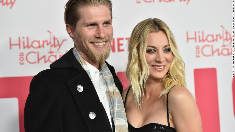 Kaley Cuoco and Karl Cook announce they are separating