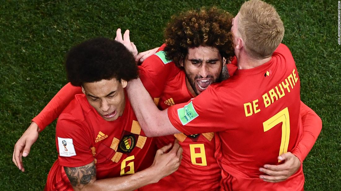 30876b852 Belgium complete stunning comeback to knock out Japan - CNN