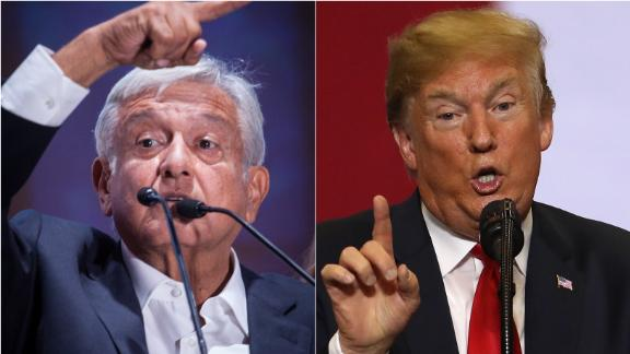 Populist Andres Manuel Lopez Obrador scored a crushing win in Mexico's presidential election and now is looking to forge a new relationship between his country and the United states and with President Donald Trump.