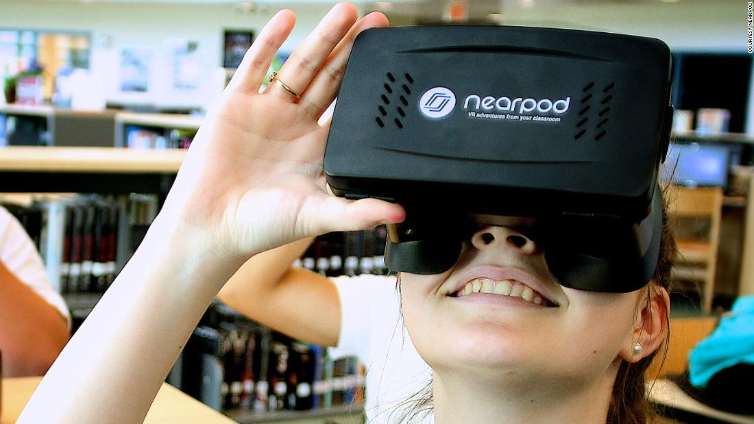 Can virtual reality revolutionize education? - CNN