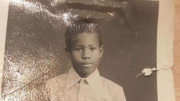 Garry Pierre-Pierre as a child.