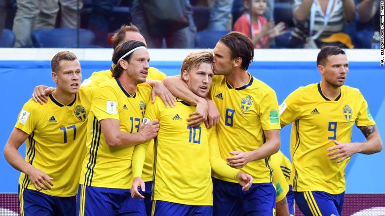 Sverige till final i world cup