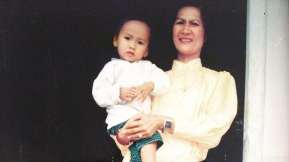 Diep Tran and her mother