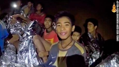 New video shows Thai boys in cave saying they're healthy