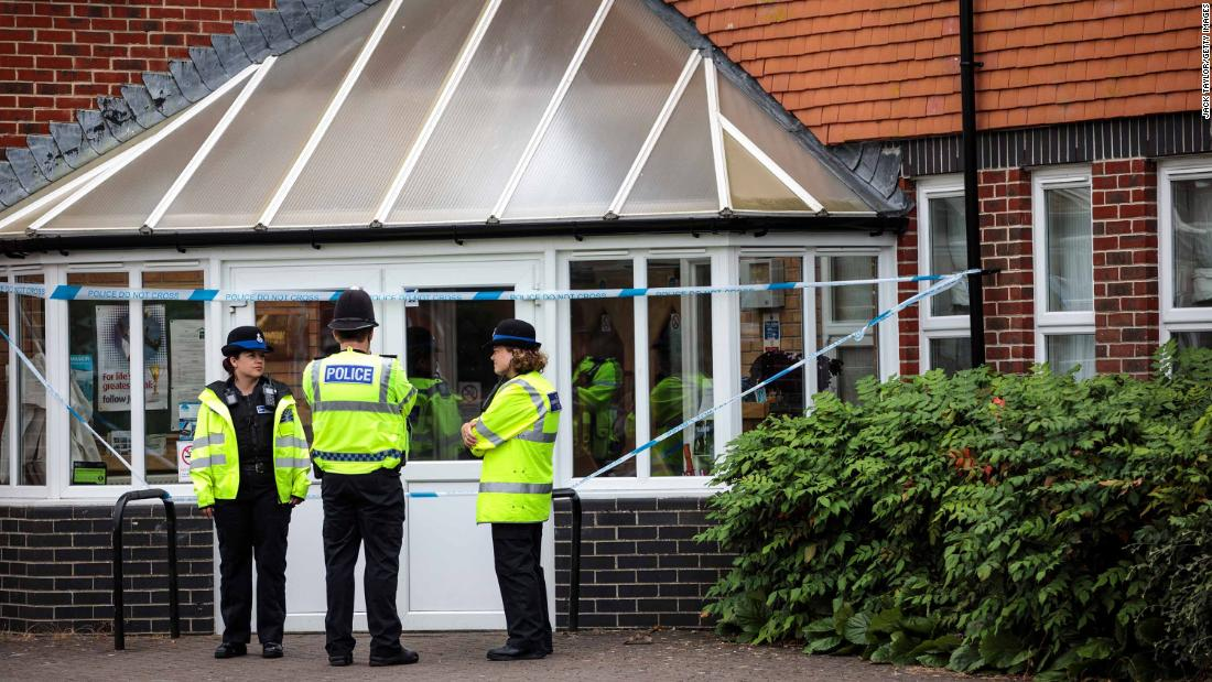 Two people poisoned by same nerve agent used on ex-spy, police say