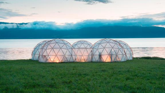The remaining four domes give visitors a taste of four of the world