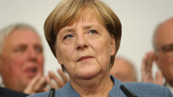 German Chancellor Angela Merkel leads a fractured coalition.
