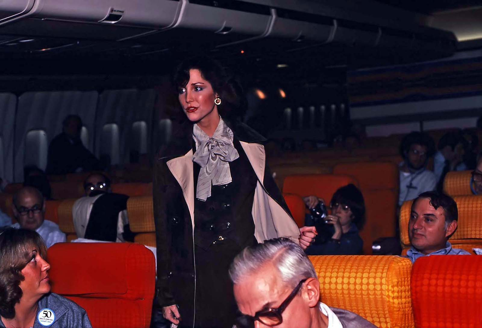 Flight attendants who accomplished the feat in the name of human life