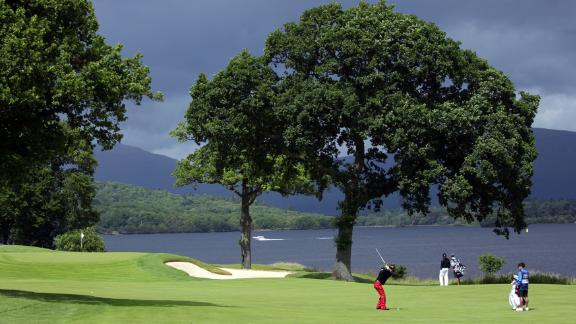 <strong>Loch Lomond: </strong>It's<strong> </strong>a relatively recent addition to Scotland's golfing repertory, designed by former US golf star Tom Weiskopf and Jay Morrish and opened in 1993, but its setting between mountains and water in the grounds of the ruined medieval castle ensures its a regular in lists of the world's best courses.