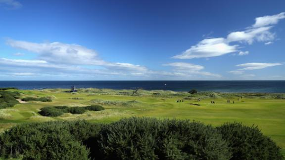 """<strong>Kingsbarns: </strong>Just along the coast from St Andrews is <a href=""""http://www.kingsbarns.com"""" target=""""_blank"""" target=""""_blank"""">Kingsbarns</a>, a blockbuster of a modern links in a spectacular cliff-top setting, opened in 2000. Crafted on land that first witnessed golf in 1793,  Kingsbarns quickly went to the top of many wish lists for its rugged scenery, testing championship course and lavish hospitality."""