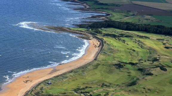 Kingsbarns: It features as one of three top-notch courses used in the European Tour