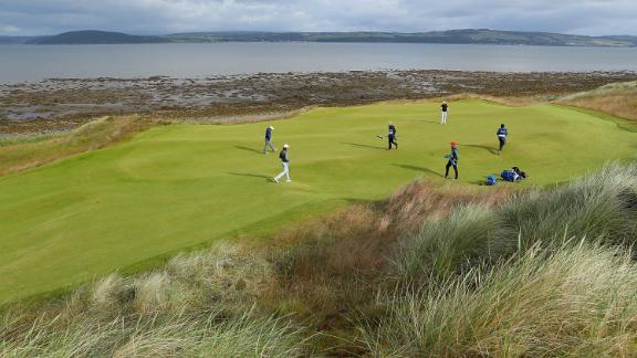 Castle Stuart: The course is 10 minutes from Inverness airport and within a short drive of Speyside