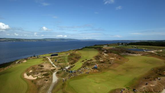 Castle Stuart: Although it only opened in 2009, Castle Stuart on the banks of the Moray Firth has become a highlight of golf in the Highlands. The course, overlooked by a towering white art-deco clubhouse, hugs the shore and shelving cliffs on a thin stretch of links land with views to Ben Wyvis mountain, Kessock Bridge, Fort George and Chanonry lighthouse.