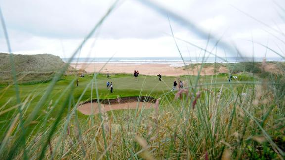 <strong>Trump International: </strong>Controversy has dogged Donald Trump's new course north of Aberdeen since day one -- with environmental concerns chief among the criticism -- but when it opened in 2012 it was clear that from a golfing point of view it was a new gem. Winding through towering dunes and sunken valleys with tantalizing snapshots of the sea, the course offers the full Scottish links experience, with American hospitality thrown in.