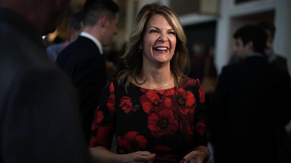 Republican U.S. Senate candidate for Arizona Kelli Ward