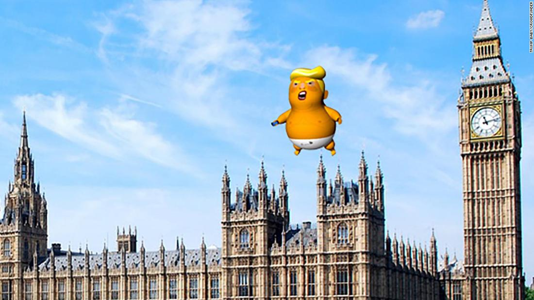 'Trump Baby' balloon gets green light from London mayor - CNN