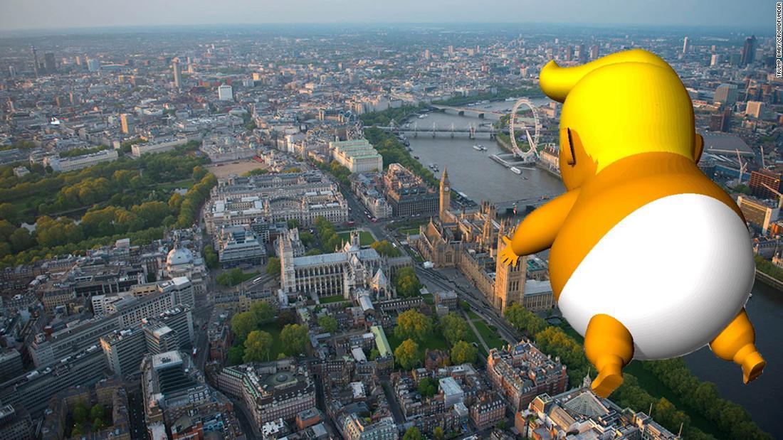 'Trump Baby' balloon gets green light from London mayor – Trending Stuff