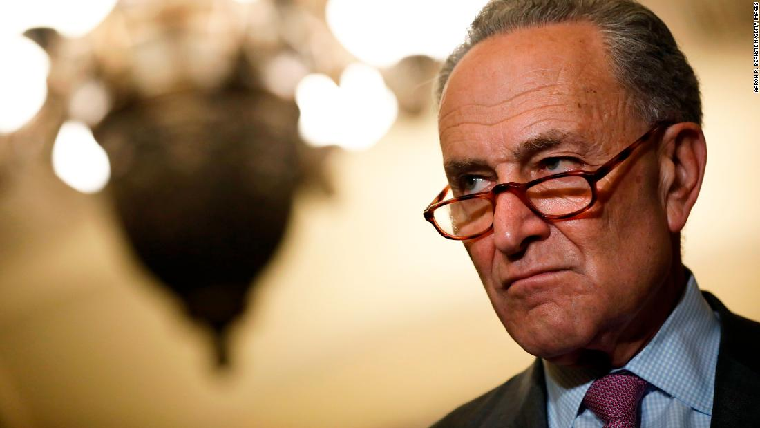 Schumer demands McConnell apologize to Kavanaugh accuser