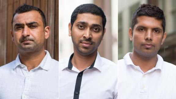 Shabbir Islam, Wahidur Rahman and Rabi Aryal were all accused of cheating on an English language test and threatened with deportation.