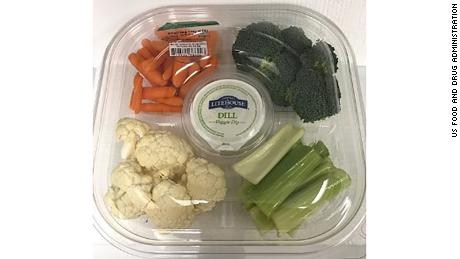 Del Monte Fresh vegetable trays were recalled due to a parasite.