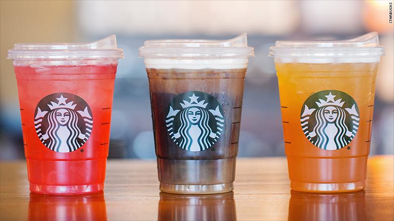See Starbucks Straw Free Lid