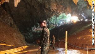 Thai cave boys mourn Navy SEAL who died during rescue - CNN