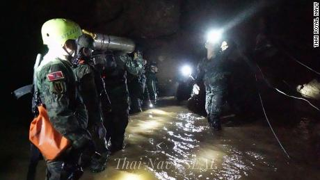 12 boys and their coach all out of Thai cave
