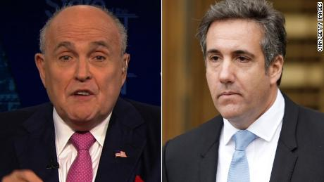 Rudy Giuliani: There is no contradiction & # 39; between Cohen and Trump's Answers to Mueller