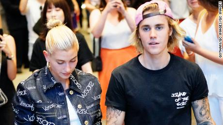 Meet hailey baldwin justin biebers fiance cnn video new york ny july 05 justin bieber and hailey baldwin out and about m4hsunfo