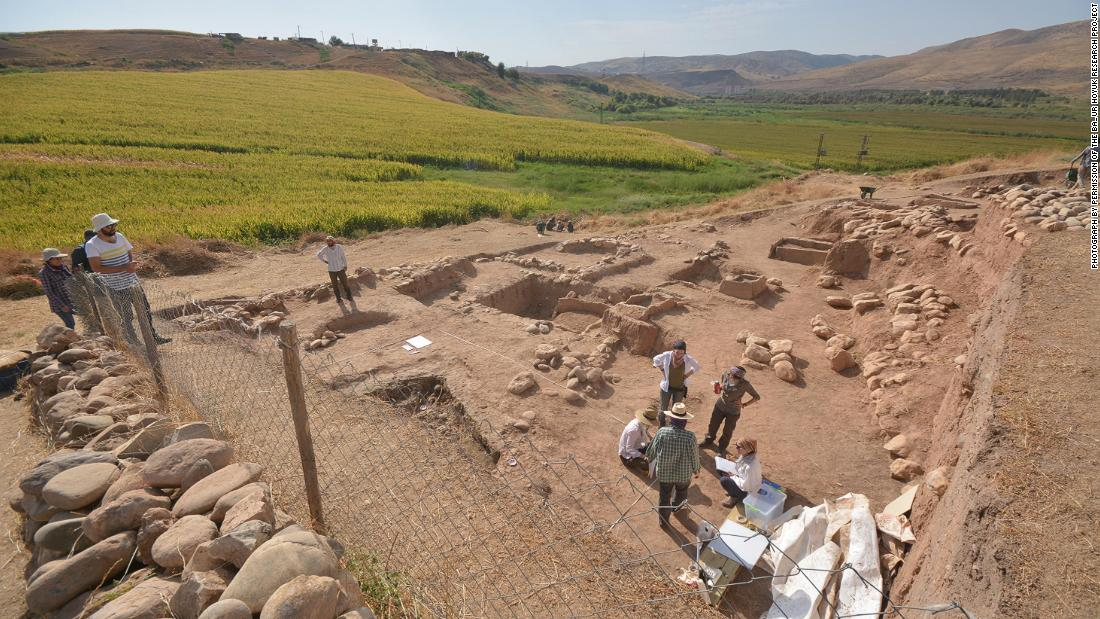 An ancient grave site in Turkey contains the remains of children who were believed to have been victims of a sacrificial ritual carried out around 5,000 years ago.