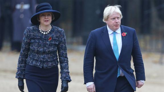 The former foreign secretary, Boris Johnson, was scathing in his view of the deal Theresa May forged with her Cabinet.