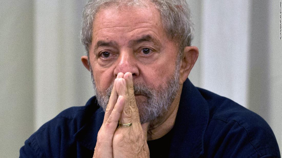 Former Brazilian President Lula da Silva drops electoral bid