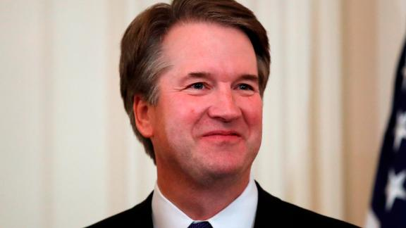Judge Brett Kavanaugh, President Donald Trump