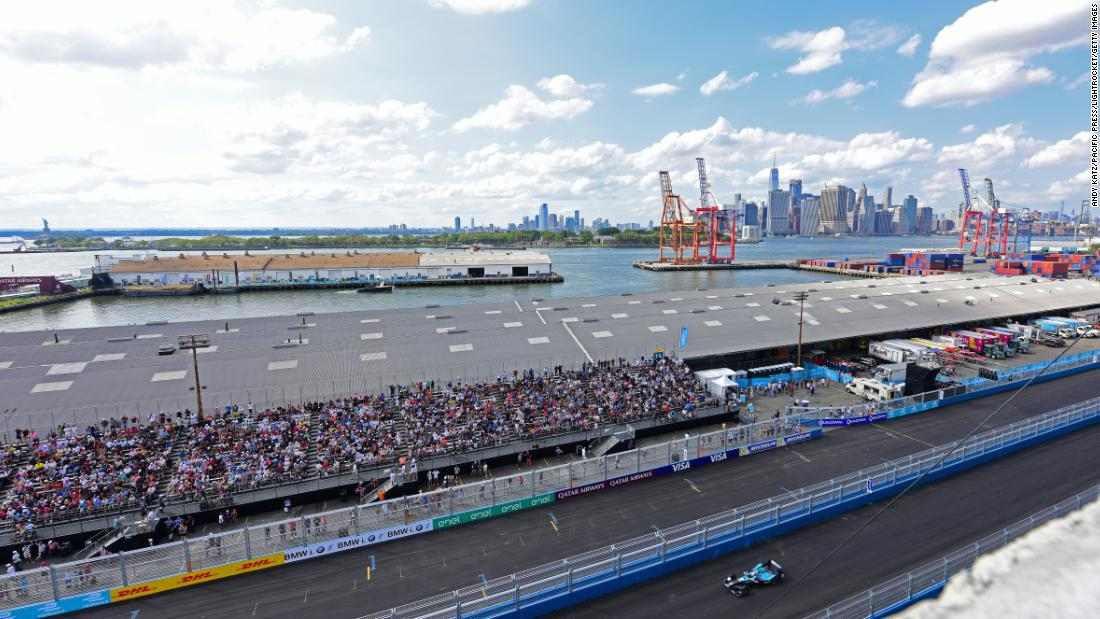 Formula E races mostly take place on street circuits in some of the world's most iconic cities. As well as New York, the distinctive buzz of the cars has also been heard in Mexico City, Hong Kong, Rome and Paris.