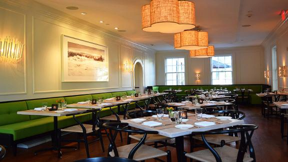 Jean-Georges at Topping Rose House: Serving the produce from the surrounding Topping Rose Farm, and other local farms, this popular restaurant has an attractive buzz, even when it
