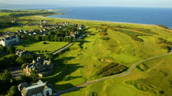 """<strong>Royal Dornoch:</strong> On the north shore of the Dornoch Firth on Scotland's northeast coast lies one of its most revered courses. Golf has been played in the seaside town, north of Inverness, since 1616 but the current club has """"only"""" been in existence since 1877."""