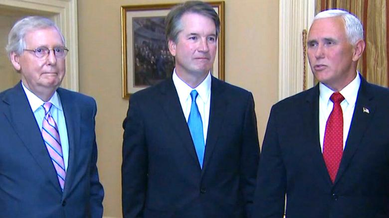 Image result for IMAGES SENATORS KAVANAUGH