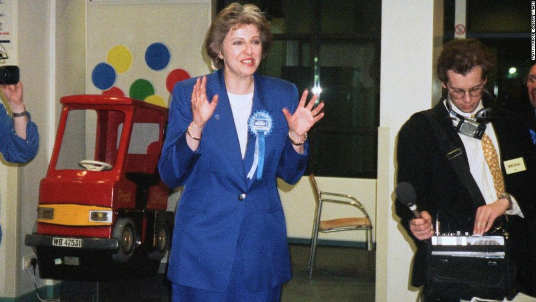 In May 1997, May was elected to Parliament. She had previously been a councillor in the London borough of Merton.
