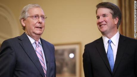 McConnell called Trump to say Kavanaugh tweets weren't helpful