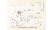 Winnie-the-Pooh map sets record at auction - CNN Style on 100 aker wood map, city map, drawing of a town map, gemini map, kingdom hearts 100-acre wood map, wooden story map, 100-acre wood rally map, 100-acre wood forest map, once upon a time map,